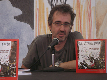 El escritor Patxi Irurzun
