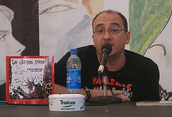 El dibujante Juan Kalvellido