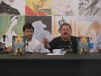 Lorenzo Luengo y Paco Taibo