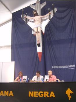 Cristina Macía, Diego García Cruz e Ian Watson