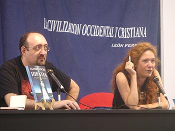 Eduardo Vaquerizo y Cristina Fallarás