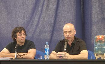 Jorge Iván Argiz y Javier Negrete