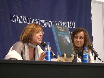 Cristina Macía y Noemí Sabugal
