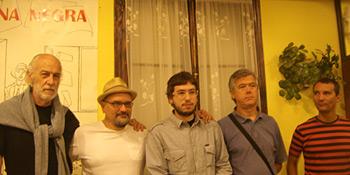 Guillermo Orsi, Juan Miguel Aguilera, Javier Sinay, Gregorio Casamayor y Alejandro Hernández