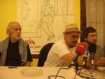 Guillermo Orsi, Juan Miguel Aguilera y Javier Sinay