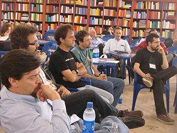 Rogelio Guedea, Willy Uribe, Jon Arretxe, José Ramón Gómez Cabezas y Enrique Rubio