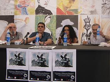 Francisco Prado Alberdi, Alejandro Gallo, Vanessa Gutiérrez y Francisco Erice