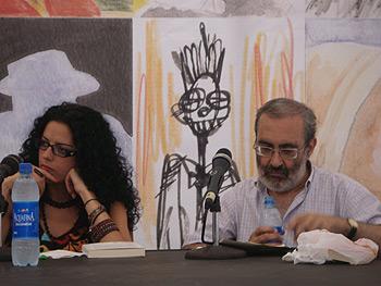 Vanessa Gutiérrez y Francisco Erice