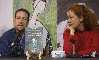 Jerónimo Tristante y Cristina Fallarás