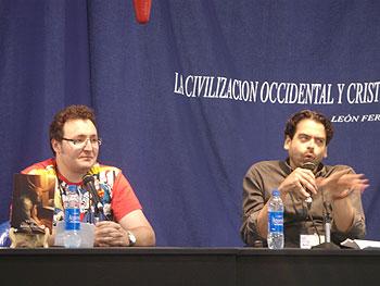 Francis P. Fernández y Juan Ramón Biedma