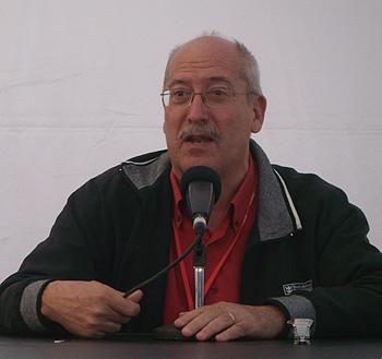 Andreu Martín presenta su próximo libro Cabaret Pompeya