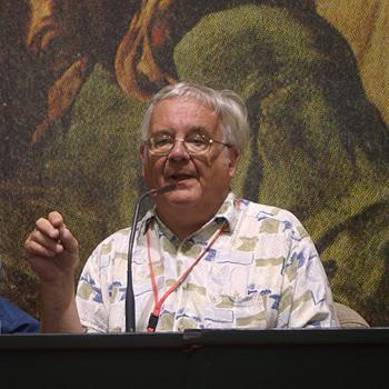 Ramsey Campbell durante su charla