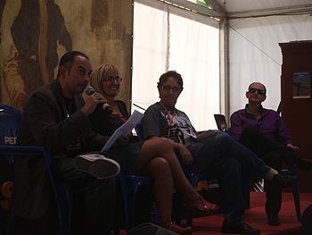 Hijos de Mary Shelley: Félix J. Palma, Patrica Esteban Erlés, José Carlos Somoza y Fernando Marías