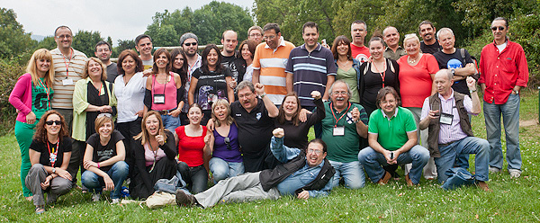 El equipo de la Semana Negra de Gijón 2011