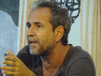 Guillermo Toledo presentado su libro (Foto: Toni Gutiérrez)