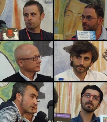 Fernando Nuño, Matías Rodríguez, Alfredo Cernuda, David Barreiro, Nacho Guirado y Tito Montero