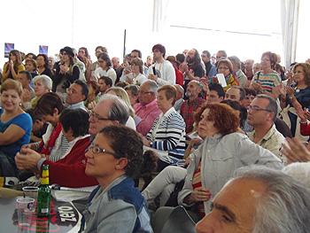 Público asistente (Foto: Angie Álvarez)