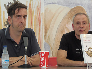 Javier Calvo y Ángel de la Calle