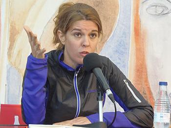 Mónica García Prieto (Foto: Angie Álvarez)
