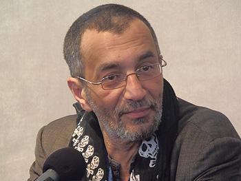 Abdel Hafed Benotman en la Carpa del Encuentro