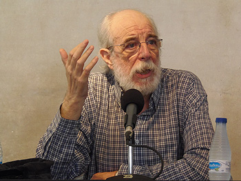 Francisco Prado Alberdi, presidente de la Fundación Juan Muñiz Zapico de CC.OO. Asturias. Foto: Toni Gutiérrez
