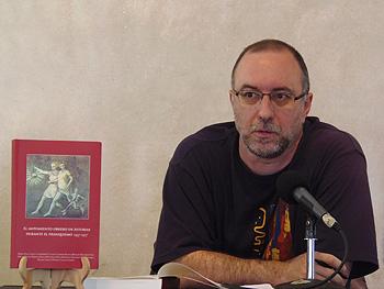 El  historiador Rubén Vega. Foto: Toni Gutiérrez
