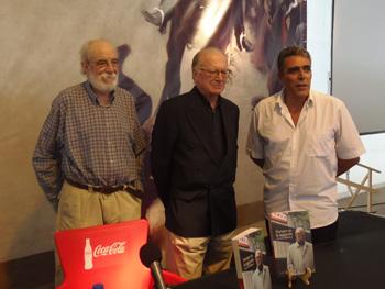 Francisco Prado Alberdi, Nicolás Sartorius y Alejandro Gallo. Foto Toni Gutiérrez