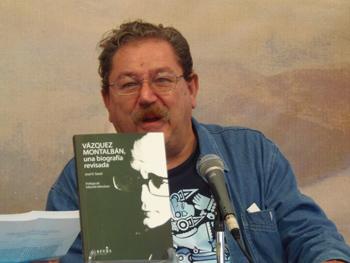 Paco Taibo en la charla Diez años sin Manolo Vázquez Montalbán