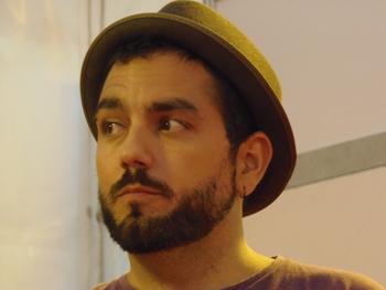 Jesús Cañadas presentando su novela en la Semana Negra