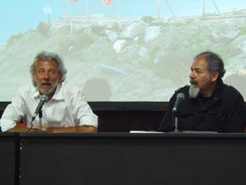 Javier Bauluz y Juan Medina