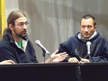 Rodrigo García y Jaime Alekos
