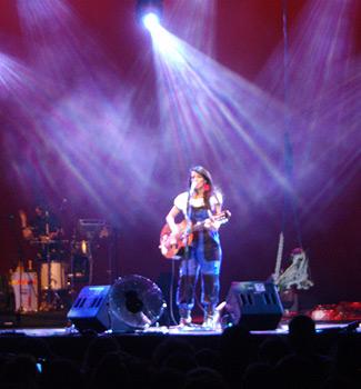 Un instante del concierto (Foto: Toni Gutiérrez)