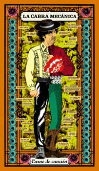 Portada de «Carne de Canción», disco de despedida de La Cabra Mecánica