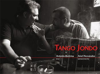 Antonio Bartrina y Ariel Hernández presentando Tango Jondo