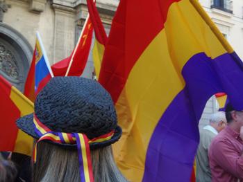 Manifestación por la III República (Foto: Toni Gutiérrez)