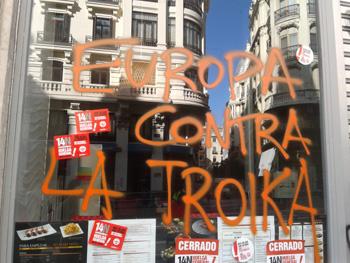 Europa contra la Troika (Foto: Toni Gutiérrez)