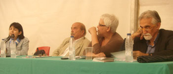 María Jesús Suárez, Toni Barbará, Felicitas Velázquez y Fernando Pérez Iglesias (Foto: Toni Gutiérrez)