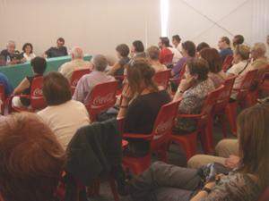 Público que abarrotó la presentación de Jose K, torturado (Foto: Toni Gutiérrez)