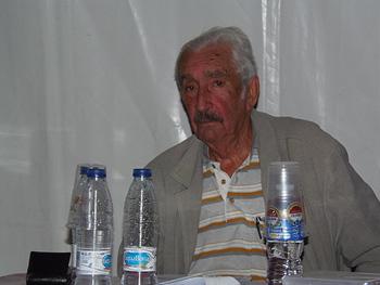Armando López Salinas durante la presentación del documental Hay una luz en Asturias… Testigos de las huelgas de 1962
