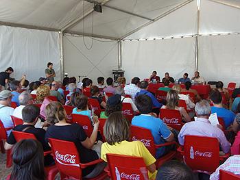 Presentación del libro Manual para luchar contra la Reforma Laboral. (Foto: Toni Gutiérrez)