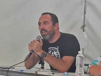 Pepo, Comisión de Metodología de la RSP Estatal. (Foto: Toni Gutiérrez)
