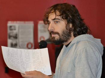 Luis Díaz presentando la metodología de la RSP. (Foto: José M. Domínguez García)