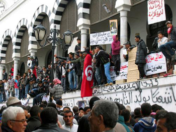 Túnez: Qasba revolucionaria (Foto: Ainara Makalilo)