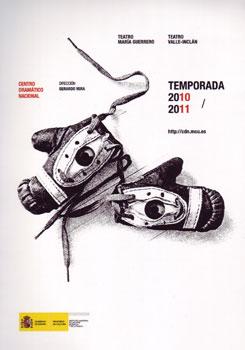 Cartel de la próxima temporada 2010-2011 del Centro Dramático Nacional