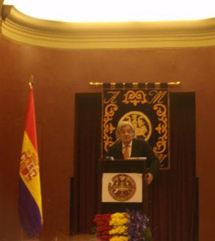 Carlos Paris, Presidente del Ateneo