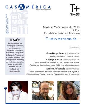 Invitación de la conferencia