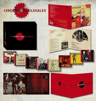 La caja 126 canciones ilegales