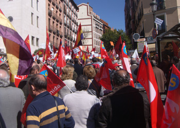 Un instante de la manifestación (Foto: Toni Gutiérrez)