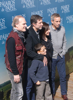 Lluís Homar, Emilio Aragón, Carmen Machi, Imanol Arias y Roger Princep