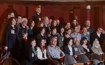 Foto de grupo de la Candidatura por la unión